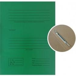 Kartoninis aplankas SMLT, su įsegėle, A4, žalias