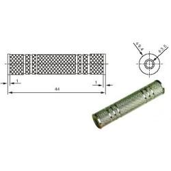 """Perėjimas  """"3.5mm lizdas – 3.5mm lizdas"""" metalinė"""