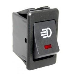 Klavišinis jungiklis automobių šviesoms 2 padėčių 4 kontaktų