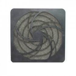 Grotelės ventiliatoriui 80x80mm plastikinės su filtru