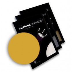 Dekoratyvinis popierius CURIOUS A4 Super Gold