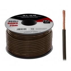 3515 6AWG maitinimo kabelis juodas