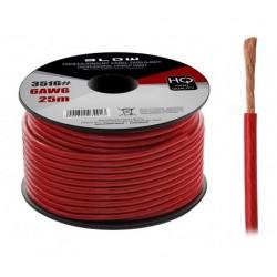 3516 6AWG maitinimo kabelis raudonas