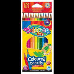 Spalvoti pieštukai Colorino Kids 12 sp.