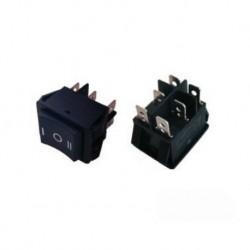 Klavišinis jungiklis R565KKBT0FS 15A/250VAC (ON)-OFF-(ON)
