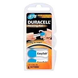 Duracell DA675 Baterijos klausos aparatams