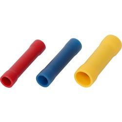 Antgalis 2-jų 0.5-1.5mm² laidų sujungimui raudonas