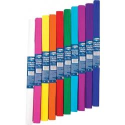 Krepinis popierius Centrum 50x200cm įvairių spalvų