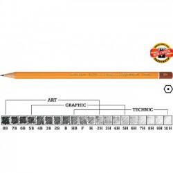 KOH-I-NOOR grafitinis pieštukas 1500 8B