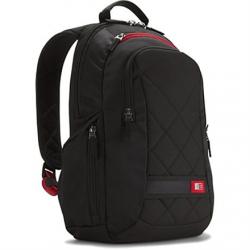 """Case Logic DLBP114K Fits up to size 14.1 """", Black, Backpack,"""