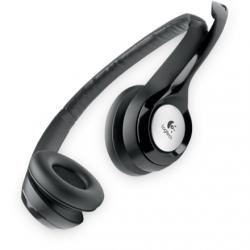 Logitech Computer headset H390 USB, USB, Black, Built-in microphone