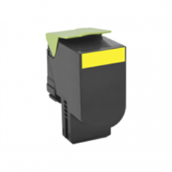 Lexmark 80C2SY0 Cartridge, Yellow, 2000 pages