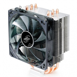 """Deepcool """"Gammaxx 400"""" universal cooler, 4 heatpipes, Intel Socket LGA 2011/1155/ 775, 130 W TDP and AMD Socket FM1/AM3+/AM3/AM2+/AM2/940/939/754, 125W TDP deepcool universal"""