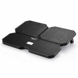 "deepcool Multicore x6 Notebook cooler up to 15.6"" 900g g, 380X295X24mm mm, Black"