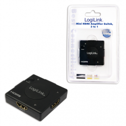 Logilink HDMI Switcher with Amplifier