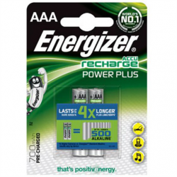 Energizer AAA/HR03, 700 mAh, Rechargeable Accu Power Plus Ni-MH, 2 pc(s)