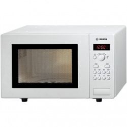 Bosch Microwave oven HMT75M421 Buttons, Rotary, 800 W, White, Free standing, Defrost function