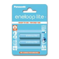 Panasonic eneloop AA/HR6, 950 mAh, Rechargeable Batteries Ni-MH, 2 pc(s), Ready to use