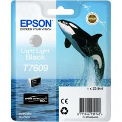 Epson T7609 Ink Cartridge, Light Light Black