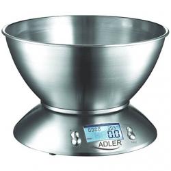 Adler AD 3134 Maximum weight (capacity) 5 kg, Stainless steel