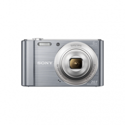 Sony DSC-W810 Compact camera, 20.1 MP, Optical zoom 6 x, Digital zoom 48 x, Image stabilizer, ISO 800, Display diagonal 6.86 cm, Focus 0.05m - ∞, Video recording, Lithium, Silver