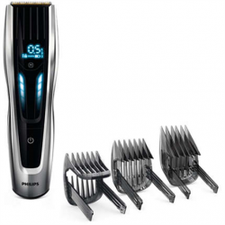 Philips hair clipper Warranty 24 month(s), Hair Clipper, Number of length steps 400, Rechargeable, Battery low indication, LED indicators, Lithium-Ion (Li-Ion), Operating time 120 min, Charging time 1 h, Motor: Auto Turbo W, Black