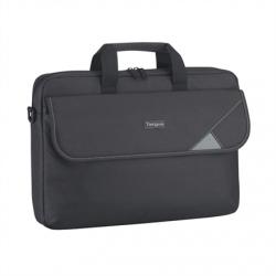 "Targus Intellect Fits up to size 15.6 "", Black/Grey, Shoulder strap, Messenger - Briefcase"