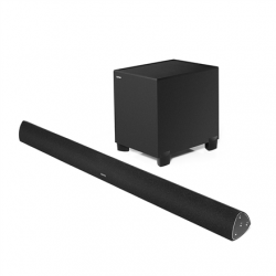 Edifier Soundbar paired with subwoofer CineSound B7 Speaker type 2.1, 3.5mm/Bluetooth, Bluetooth version 4.0, Black, 145 W