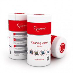 Gembird CK-WW100-01 Cleaning wipes, 100 pcs, LCD and TFT Screens