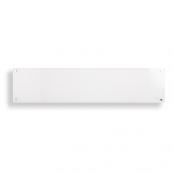 Mill Heater MB800L DN Glass Panel Heater, 800  W, Number of power levels 1, Suitable for rooms up to 10-14 m², White