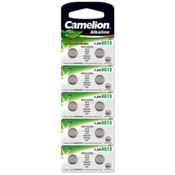 Camelion AG13/LR44/357, Alkaline Buutoncell, 10 pc(s)