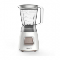 Philips Blender Daily Collection HR2052 Tabletop, 350 W, Jar material Plastic, Jar capacity 1.25 L, Ice crushing, White