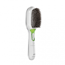Braun BR750 Satin Hair Ionic Brush, White Braun BR750 Green, White