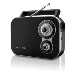 Muse M-051R Black, 2-band portable radio,