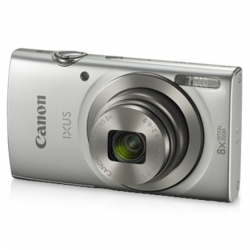 "Canon IXUS 185 Compact camera, 20 MP, Optical zoom 8 x, Digital zoom 4 x, Image stabilizer, ISO 800, Display diagonal 2.7 "", Focus TTL, Video recording, Lithium-Ion (Li-Ion), Silver"