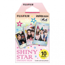 Fujifilm Instax Mini Shiny Star Instant Film Quantity 10, 86 x 54 mm