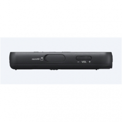 Sony ICD-PX370 MP3 playback, Black, 9540 min, MP3, Monaural, Mono Digital Voice Recorder with Built-in USB,
