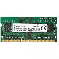 Kingston 4 GB, DDR3, 1600 MHz, Notebook, Registered No, ECC No