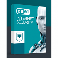 Eset Internet security, New electronic licence, 2 year(s), License quantity 5 user(s)