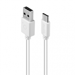 Acme Cable CB1042W 2 m, White, USB A, Type-C