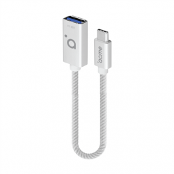 Acme AD01S USB type C to USB type A female adapter (OTG compatible), 9 cm