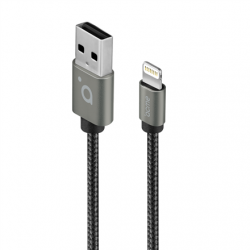 Acme Cable CB2021G 1 m, Space Gray, Lightning MFI, USB A