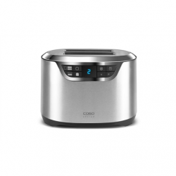 Caso Toaster NOVEA T2  Stainless steel, Stainless steel, 900 W, Number of slots 2, Number of power levels 9