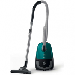 Philips PowerGo vacuum cleaner  FC8246/09 Bagged, Dry cleaning, Power 750 W, Dust capacity 3 L, 77 dB, Green