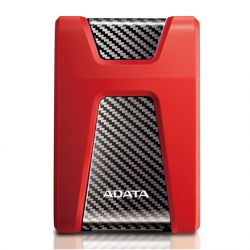 "ADATA HD650 2000 GB, 2.5 "", USB 3.1 (backward compatible with USB 2.0), Red"