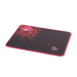 Gembird MP-GAMEPRO-L Gaming mouse pad PRO, Large Black/Red, 400 x 450 x 3 mm