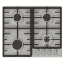 Gorenje Hob G641X Gas, Number of burners/cooking zones 4, Stainless steel,