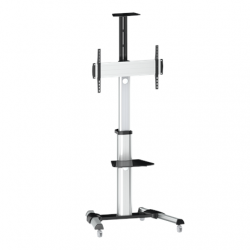 "Logilink BP0025 TV stand cart, adjustable TV height, 37–70"", max. 50 kg Logilink Floor stand, BP0025, 30-70 "", Maximum weight (capacity) 50 kg"