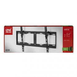 """ONE For ALL Wall mount, WM 4621, 32-84 """", Tilt, Maximum weight (capacity) 100 kg, VESA 100x100, 200x100, 200x200, 300x200, 300x300, 400x200, 400x300, 400x400, 600x400 mm, Black"""