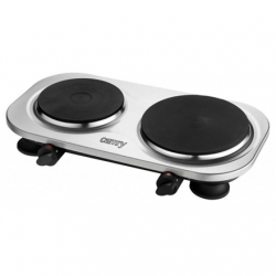 Camry CR 6511 Number of burners/cooking zones 2, Rotary knobs, Stainless steel, Electric, Hot plate